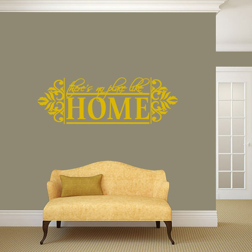 Sweetums No Place Like Home Wall Decal - 48\