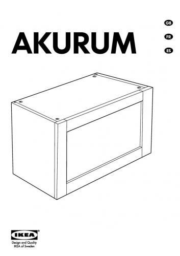 Akurum Horizontal Cabinet New Hinges Blum Instructions By Tigratrus Ikea Instructions Hinges Horizontal