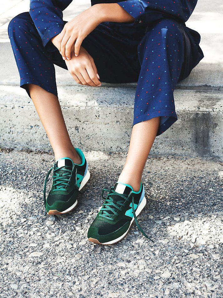 finest selection dbe0d eb6a5 Green New Balance sneakers    andwhatelse