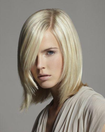 Trendfrisur Bob Bob Cut Pinterest Mittellange Haare Frisuren