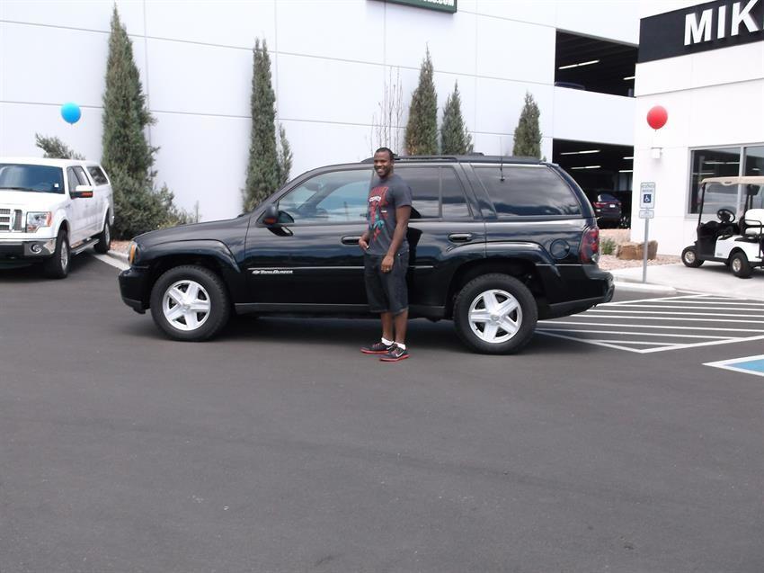 Mike Shaw Buick Gmc >> Muntrail And Pamela S New 2002 Chevrolet Trailblazer