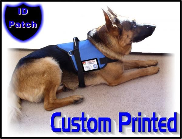 Working Dog Id Patch For Dog Vest Working Dogs Service Dogs