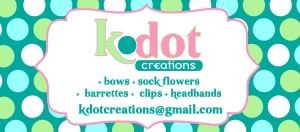 k.dot creations business cards