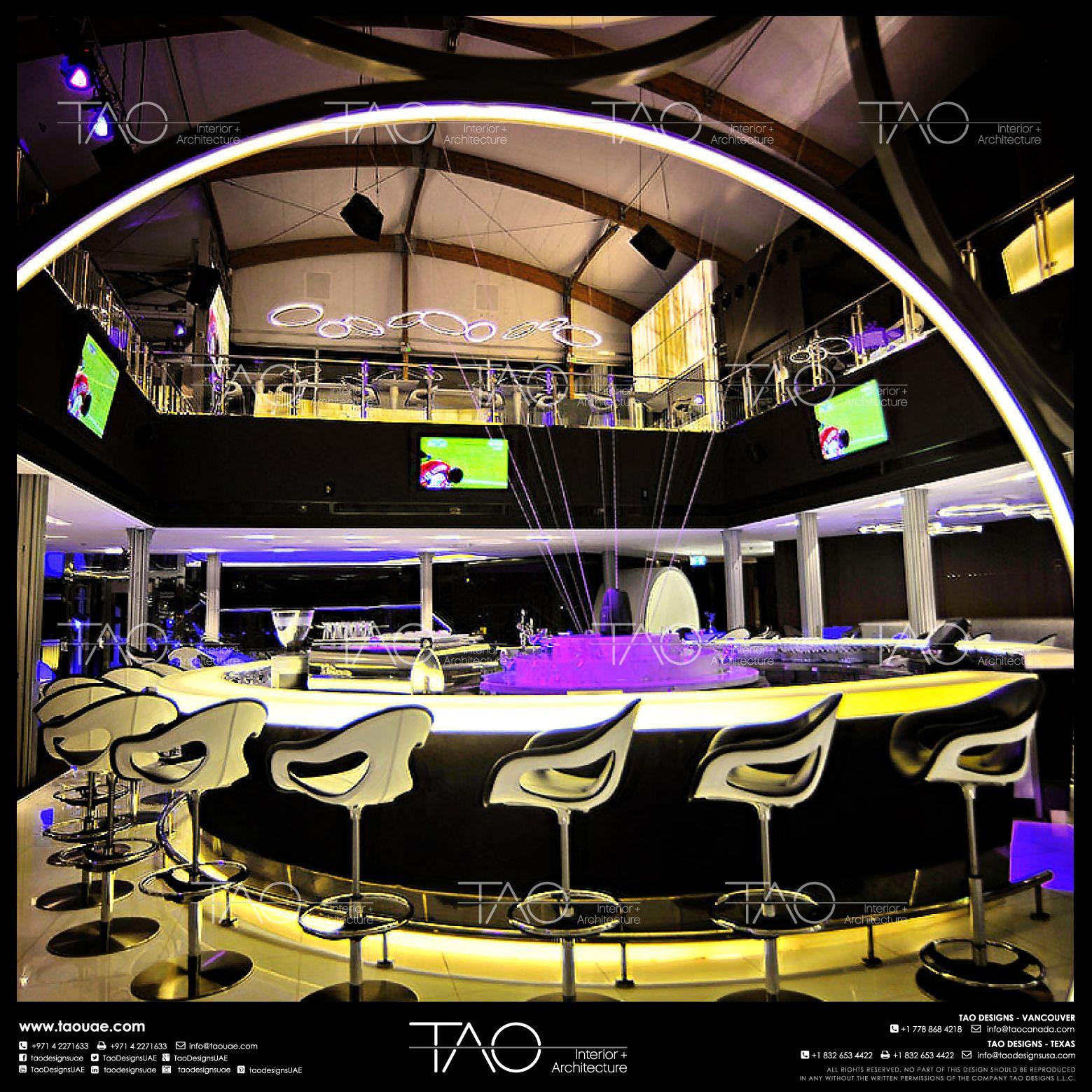 Elegantinterior Design: Zero Gravity Restaurant Interior In JBR - Dubai