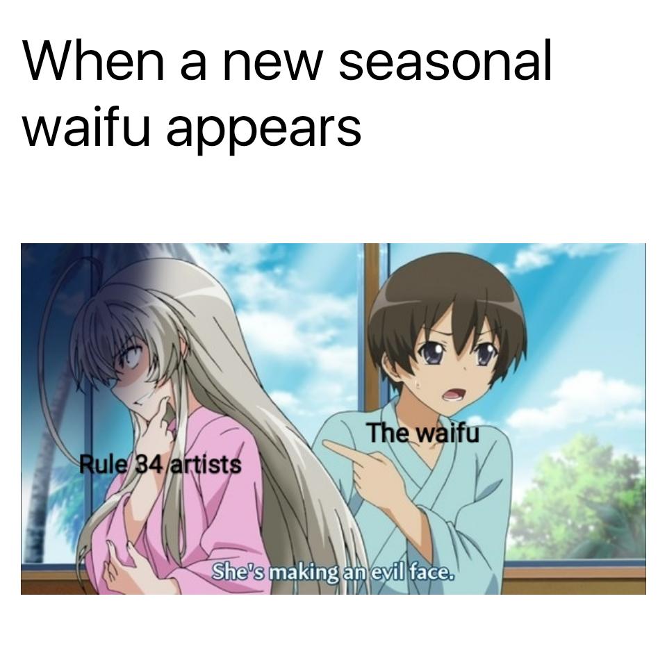 We Must Protecc Anime Nerd Anime Funny Anime Memes