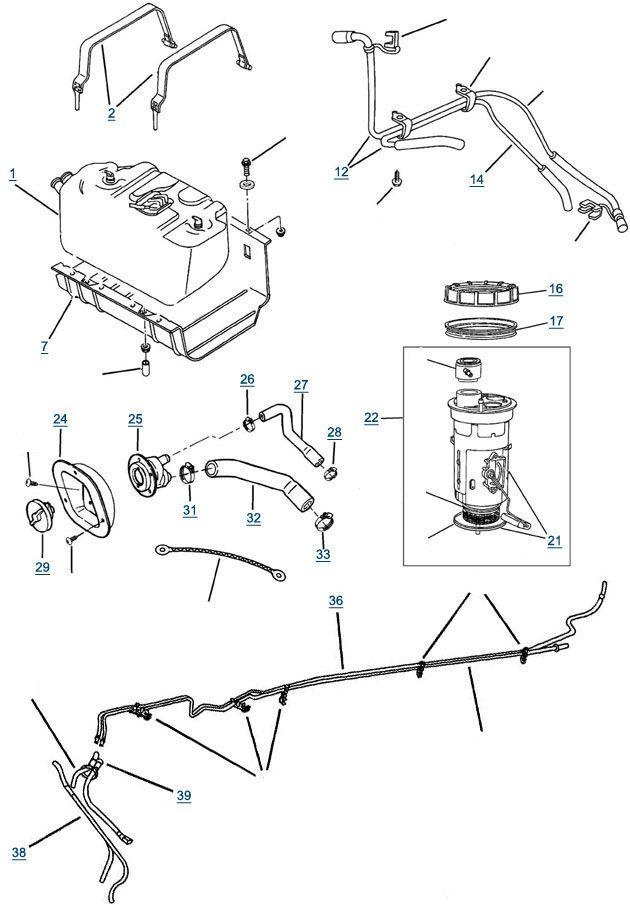 2007 jeep wrangler sport exhaust manifold parts diagram