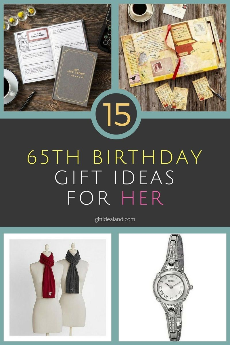 33 Great 65th Birthday Gift Ideas For Her, Mom, Sister