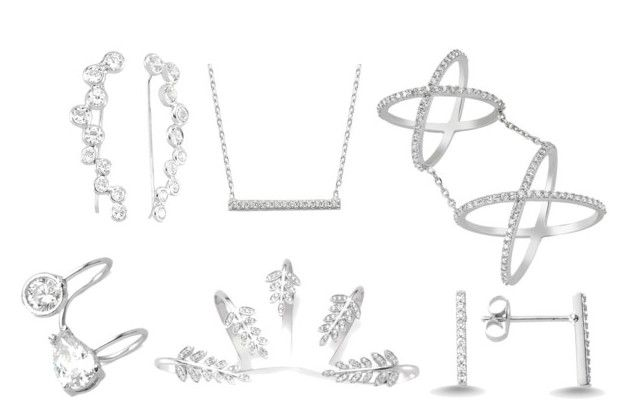"""""""sterling silver-1"""" by amorium ❤ liked on Polyvore featuring Amorium"""