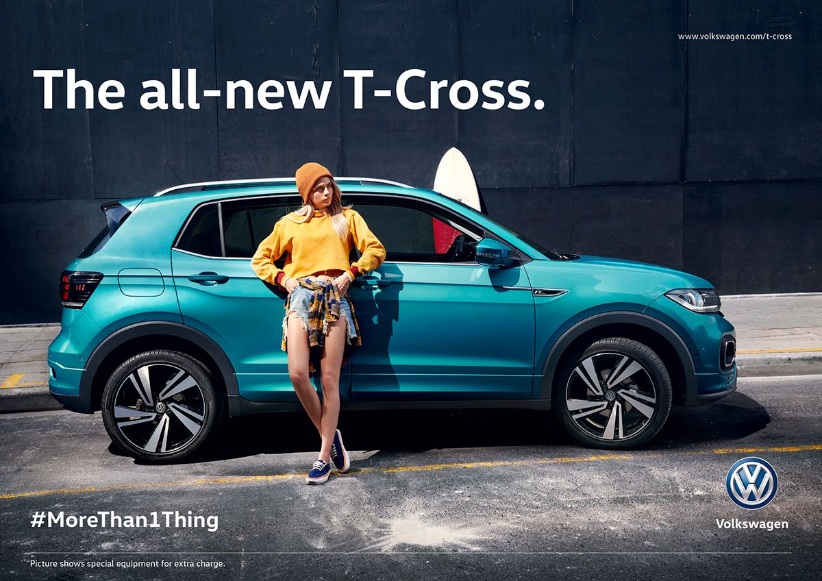 Vw T Cross On Behance Cara Launch Campaign