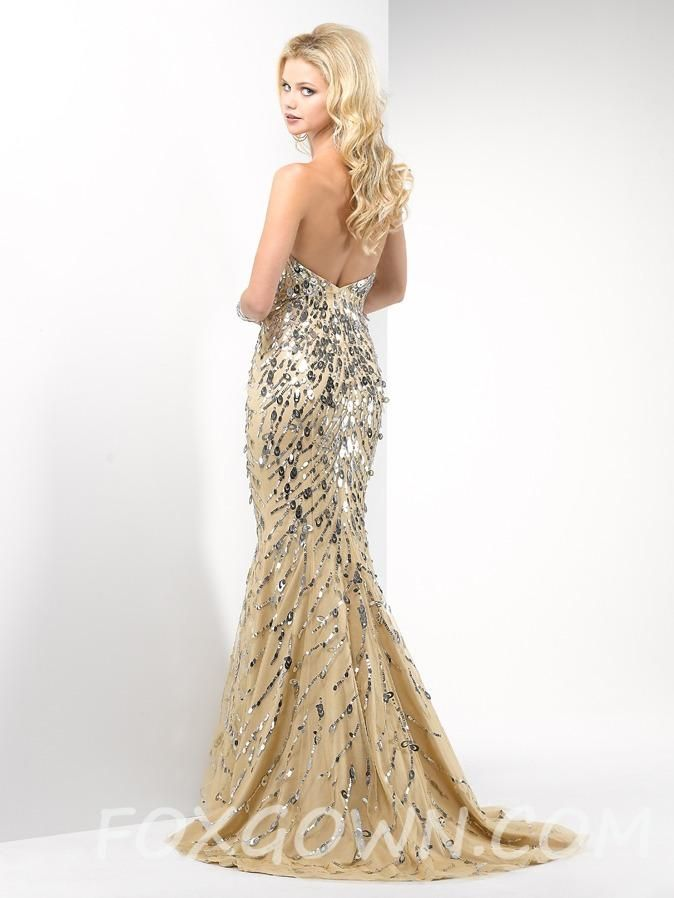 Long Sequin Prom Dress Photo Album - Reikian
