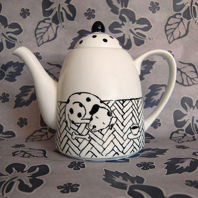 Dog Teapots   dog teapot