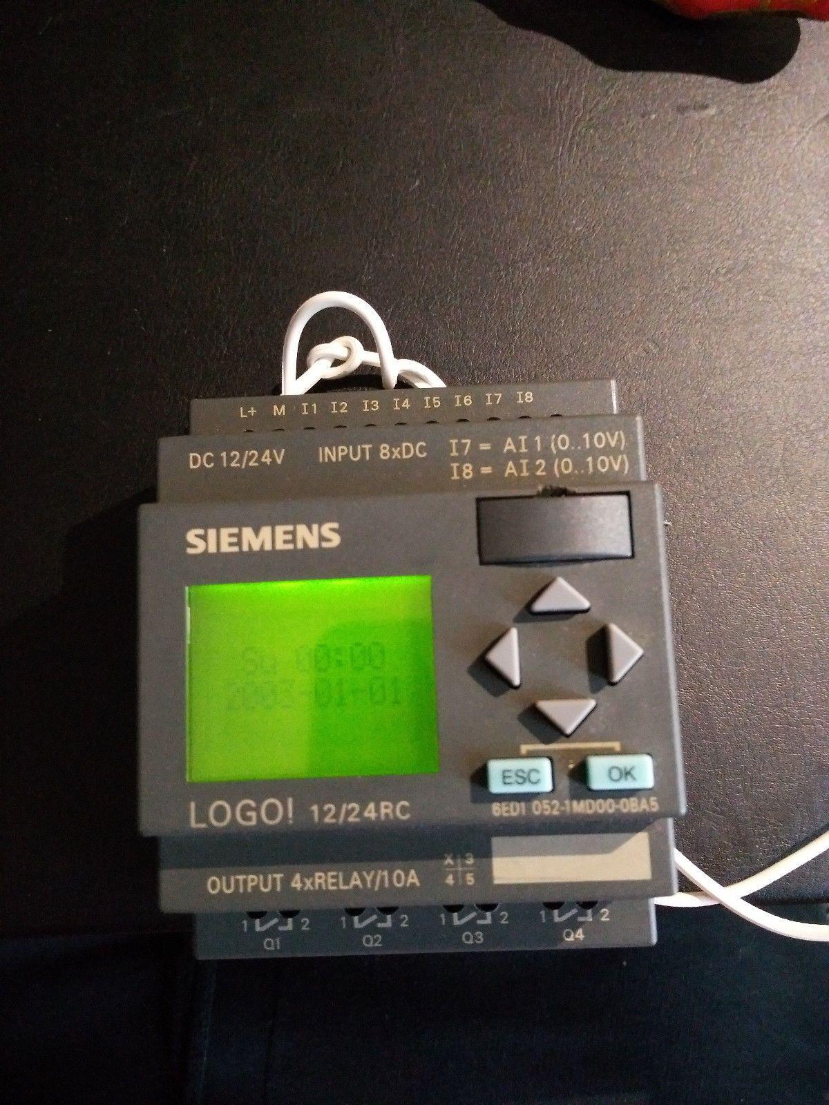 Siemens LOGO! 12/24 RC, 6ED1 0521MD000BA2 • EUR 1,50
