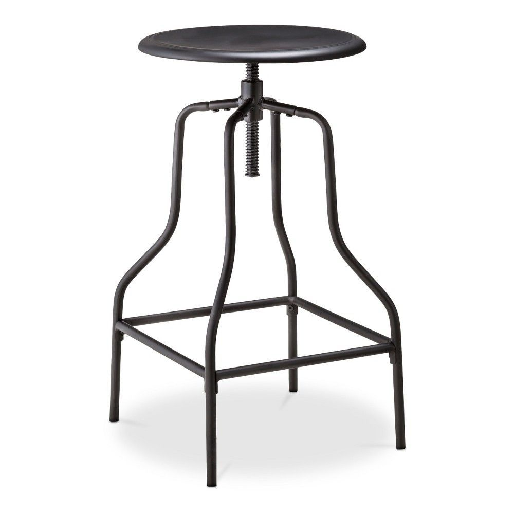 Swivel Barstool Black Threshold Products