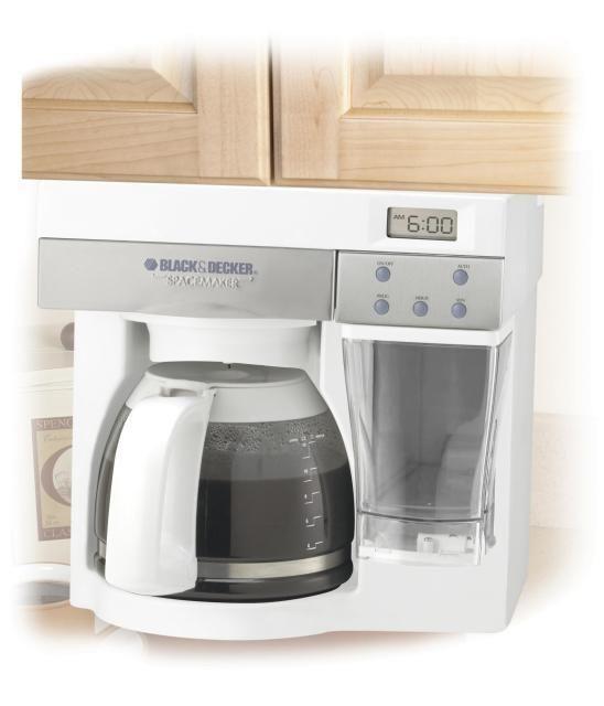 Black & Decker SpaceMaker Under Cabinet Mount ODC450 12 Cups Coffee