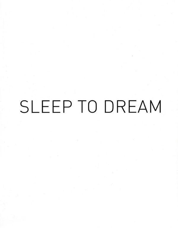 Duerme para soñar, despierta para hacerlo realidad! #Inspirandote