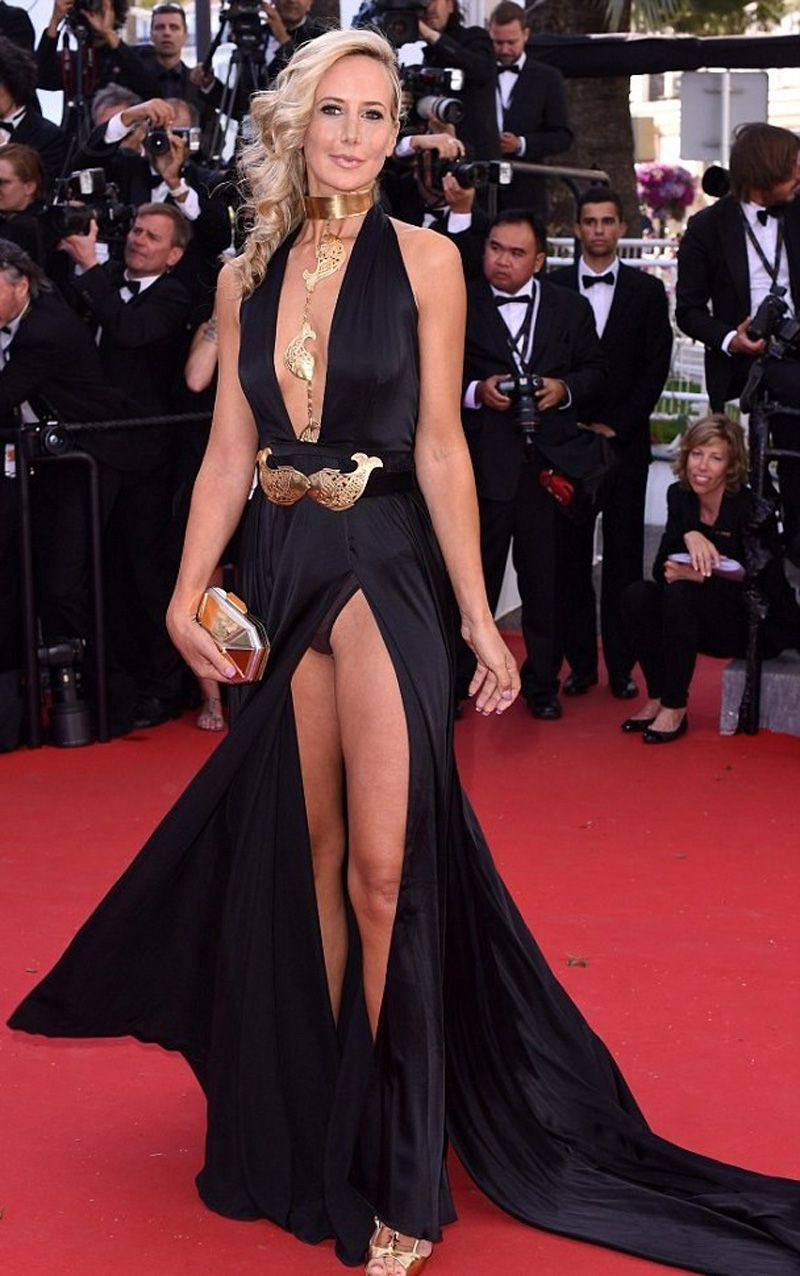Lady Victoria Hervey Pantie Upskirt and Nip Slip on the ...
