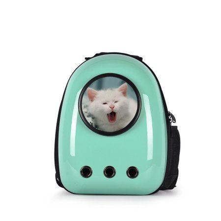 Costway Astronaut Pet Cat Dog Puppy Carrier Travel Bag Space Capsule