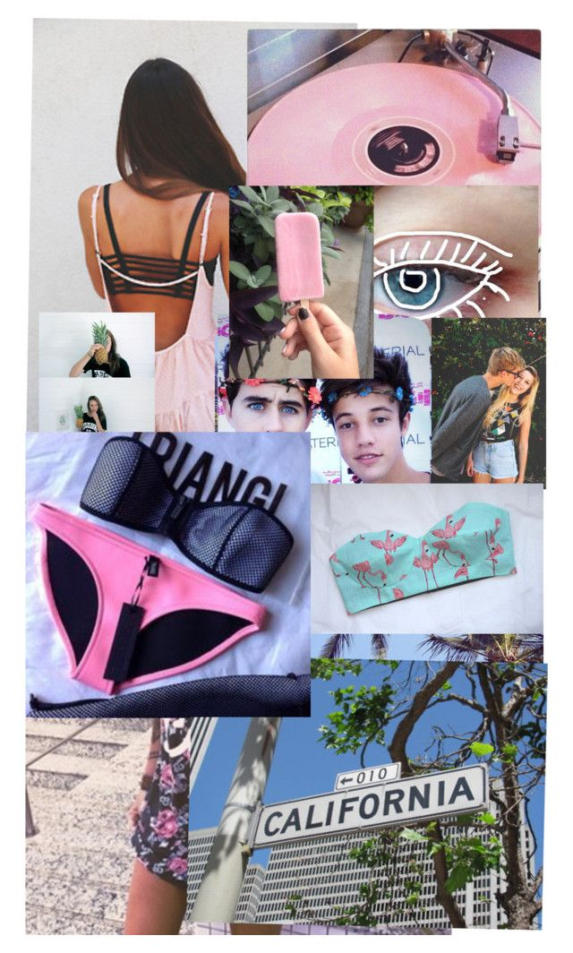 """""""Come on summer!"""" by mgkvolleyball ❤ liked on Polyvore featuring Triangl"""