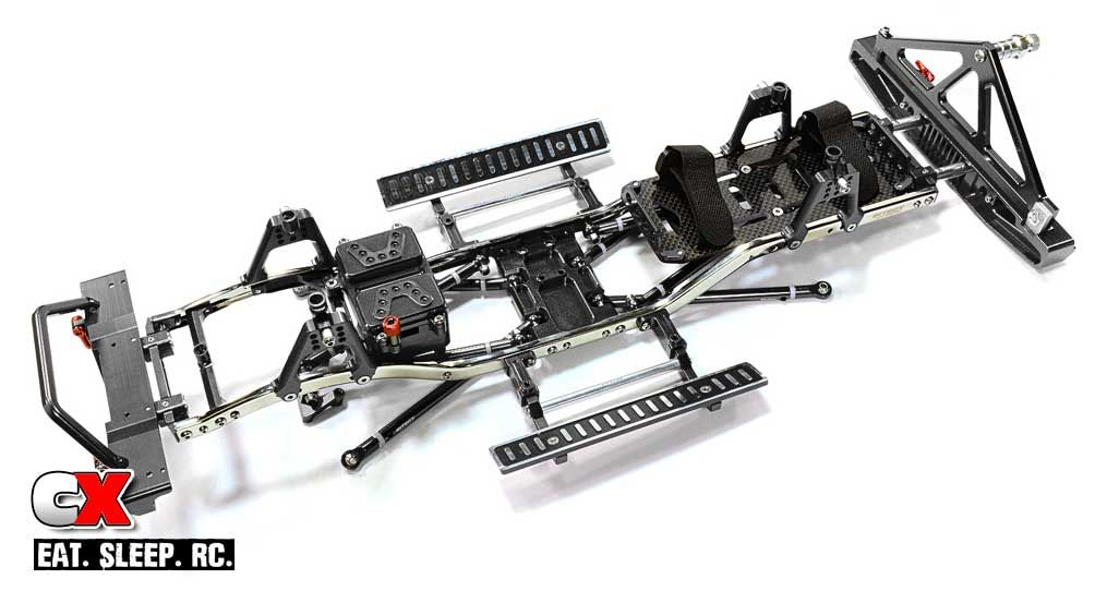 Integy Steel Ladder Frame Chassis Kit for the Axial SCX10 | rc ...