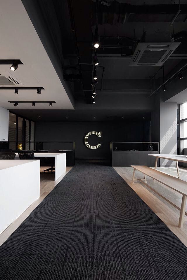 Flooring GYM Pinterest Office designs, Interiors and Ceilings