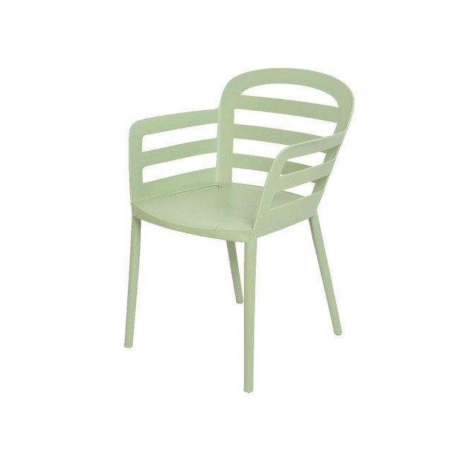 Chaise de jardin Boston en polypropylène Solide et ...