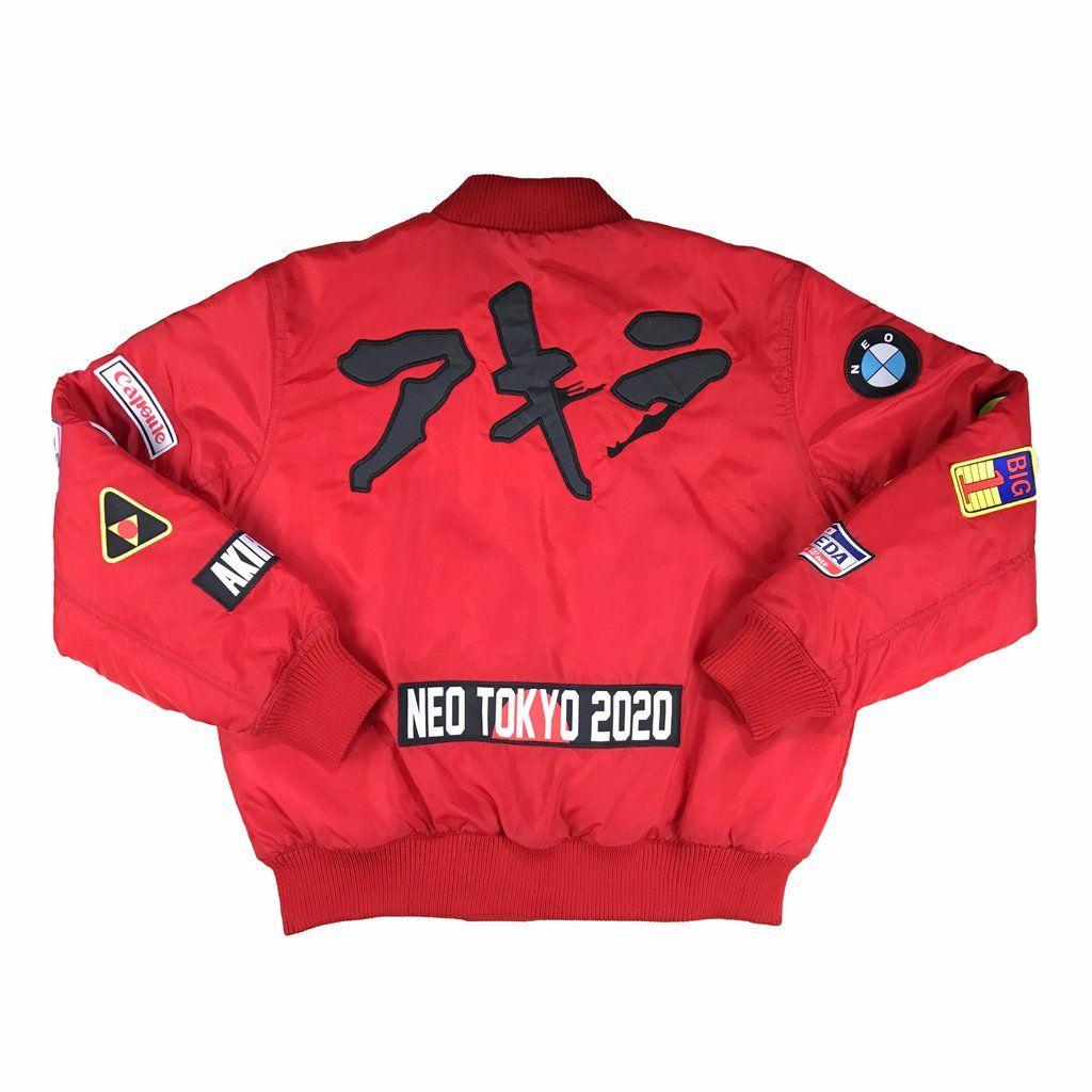 Akira Red Bomber Jacket Pre Order Red Bomber Jacket Bomber Jacket Jackets [ 1024 x 1024 Pixel ]