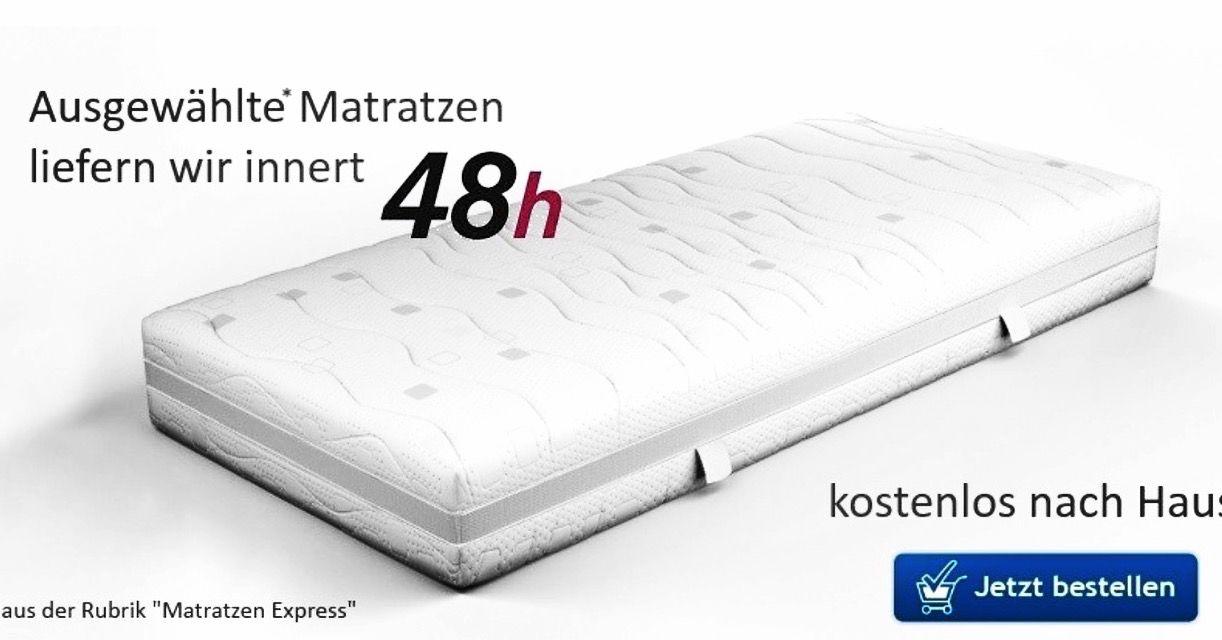 Umstieg Auf Komfortable Matratzen Per Kostenlose Expresslieferung Innert Zwei Tagen Im Matratzen Universum Konnen Matratzen A Matratze Kaltschaum Testsieger