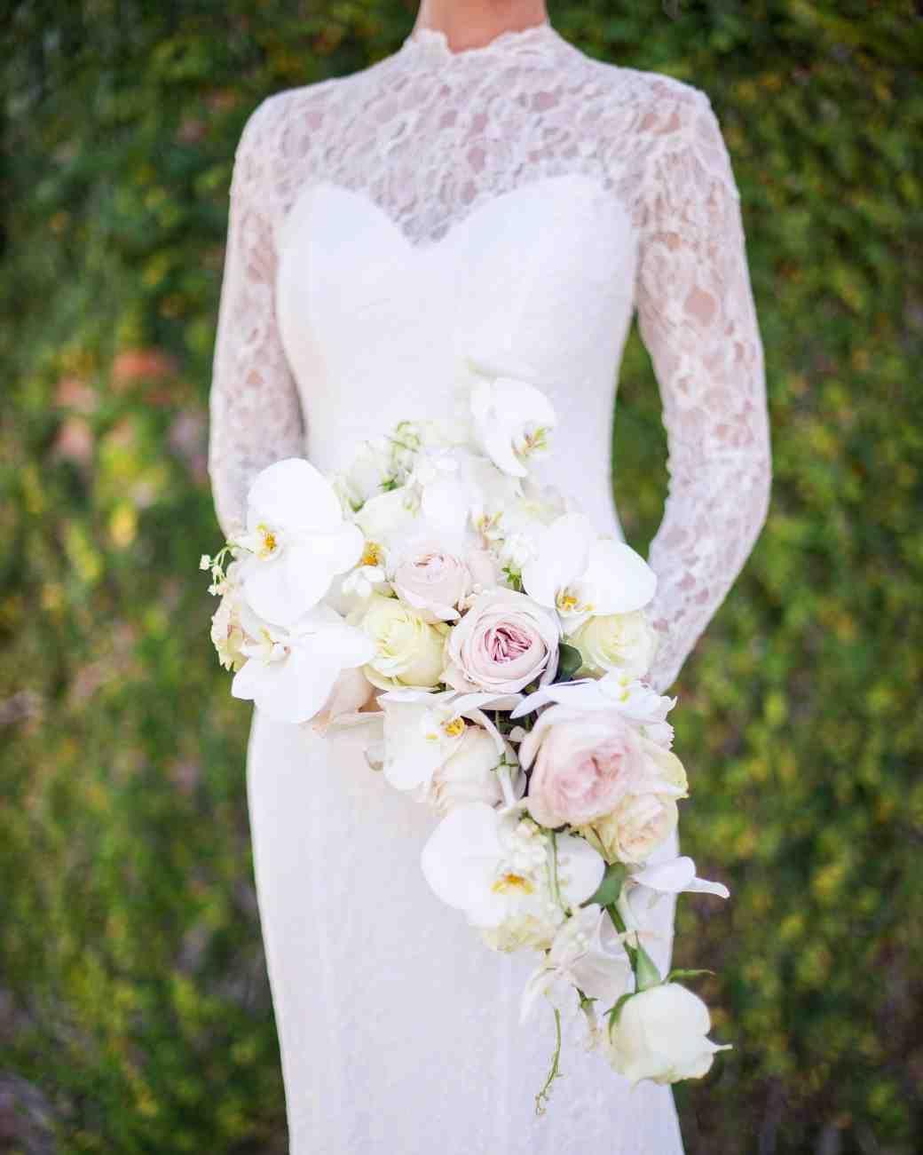 32 Chic Cascading Wedding Bouquets Cascading Wedding Bouquets