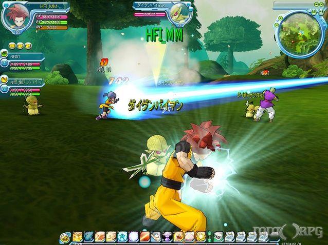 Dragon Ball Online Online Mmo Game Screenshots Fun Online Games Cool Games Online Mmo Games