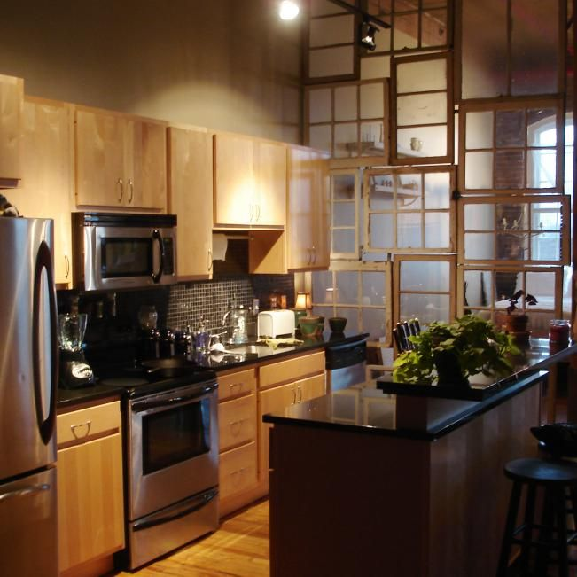 Very Small Kitchen Ideas Pictures Tips From Hgtv: Small Neutral Cabin Kitchen With Forest View