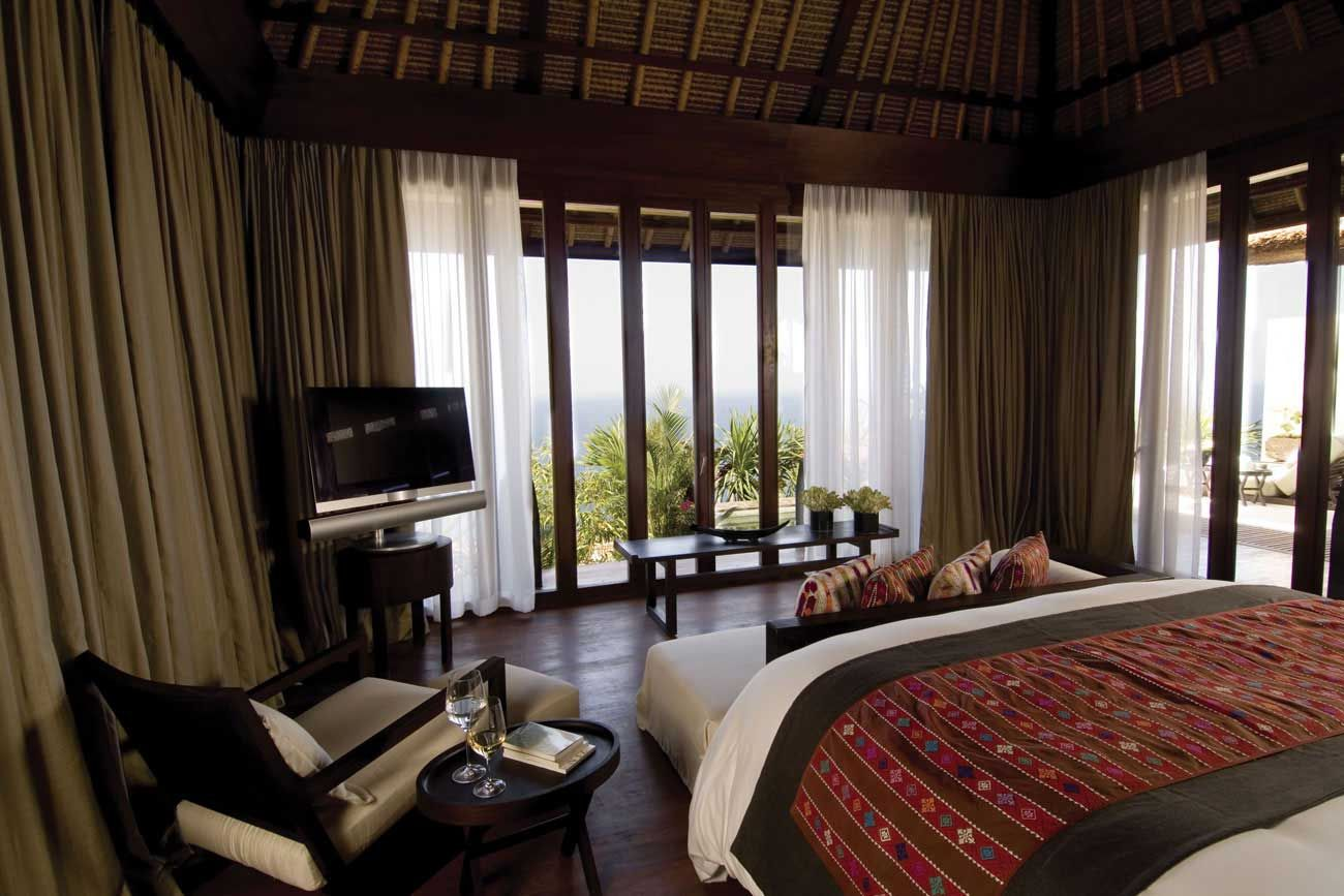 bvlgari hotel in bali ocean view with private plunge pool accessories furniture fabulous bedroom design bulgari resort in bali with wooden flooring feat - Bali Bedroom Design