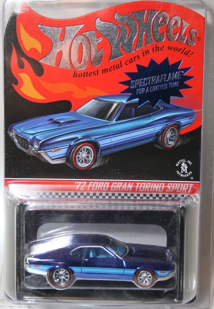 Hot Wheels Rlc 72 Ford Gran Torino Sport Hotwheels Hot Wheels