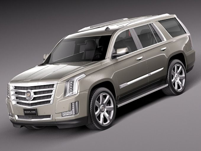 cadillac escalade 2015 by squir on creative market 3d assets rh pinterest com