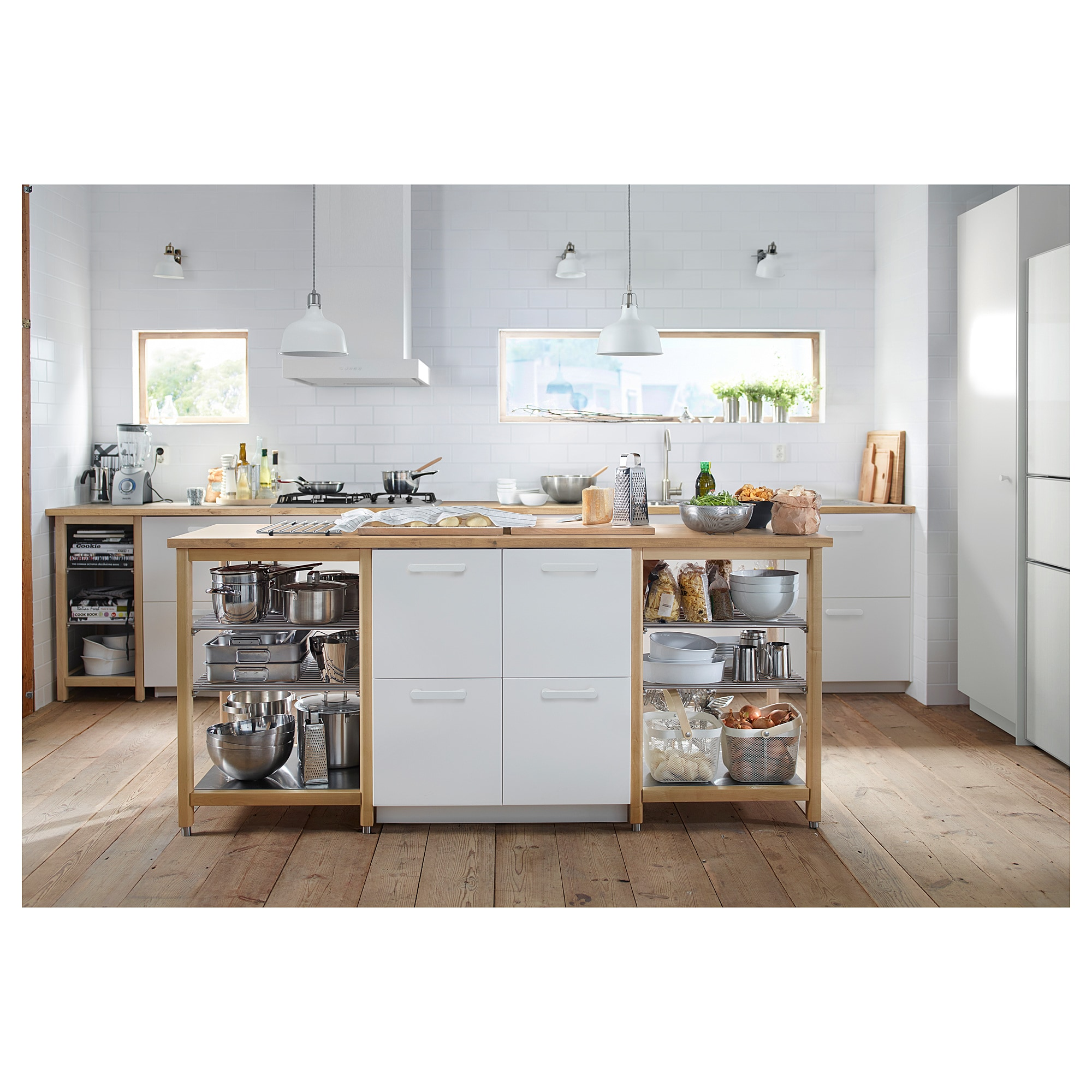 Karlby Countertop Birch Veneer Shop Here Ikea In 2020 Karlby Countertop Ikea Kitchen Island Countertops