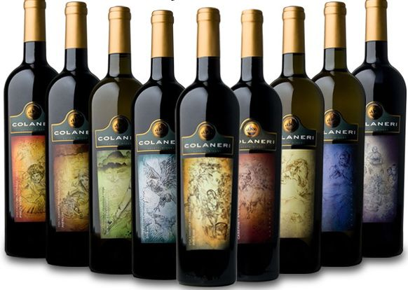 Wine Label Art Colaneri  Wine Label    Wine Label Art
