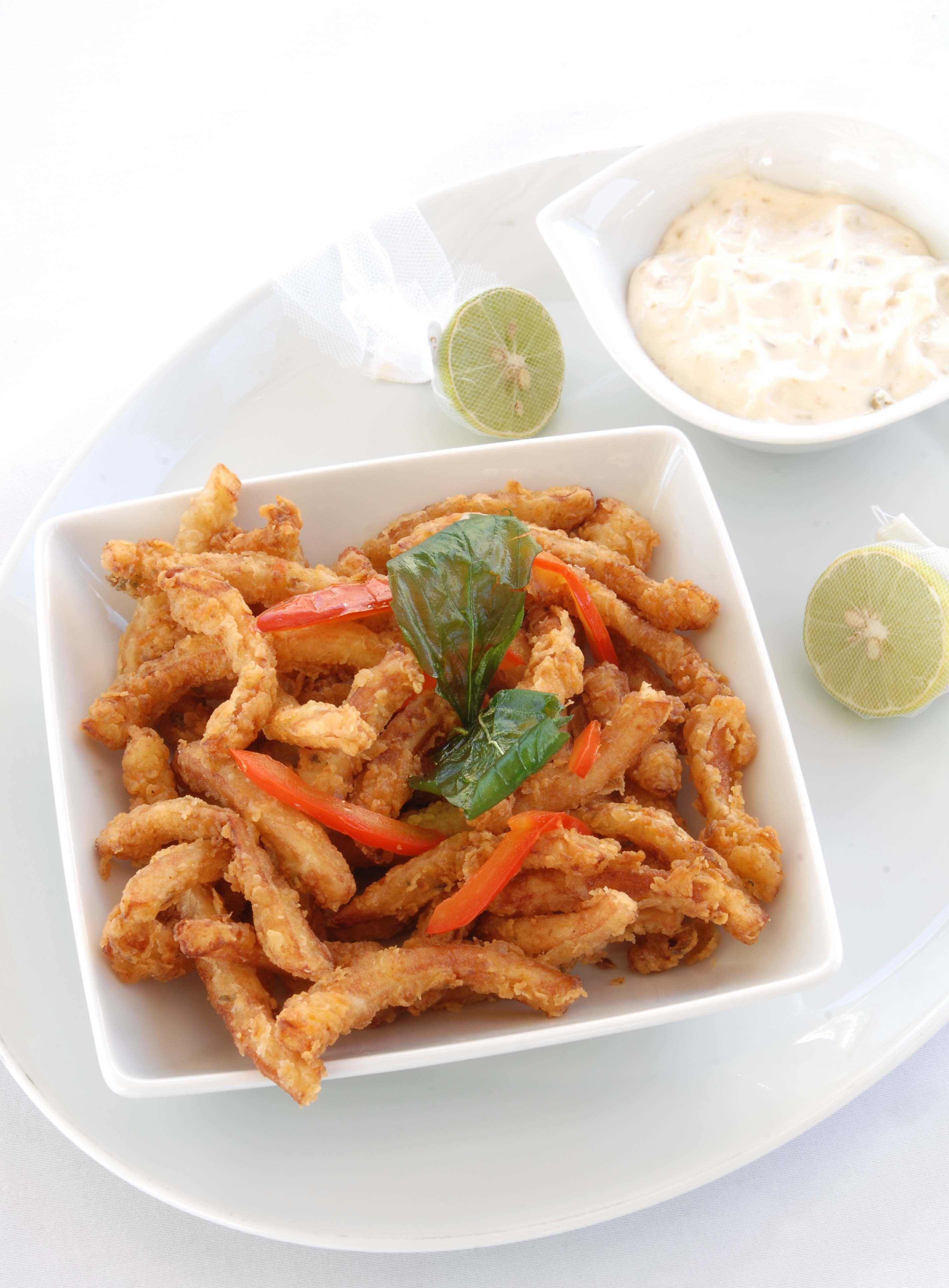 Fried Calamari ...