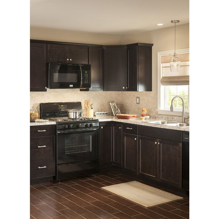 shop kitchen classics brookton 36 in w x 30 in h x 12 in d espresso rh pinterest com