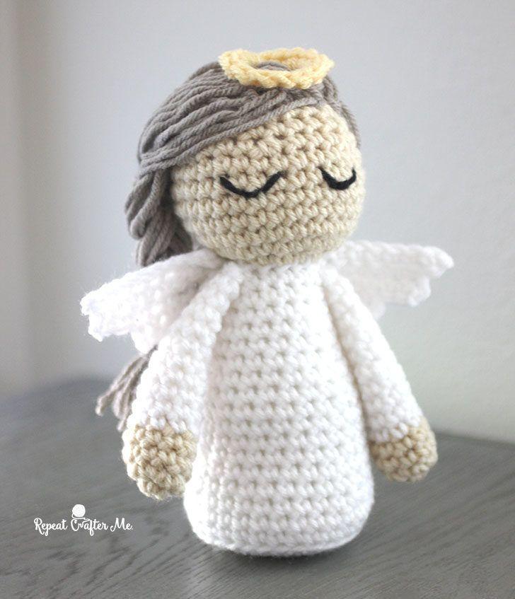 Crochet Angel Pattern | Angel crochet | Pinterest | Croché ...