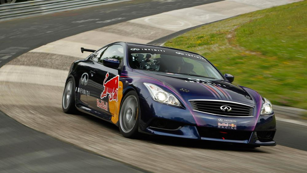 Infiniti G37 Coupe Track Car Revealed