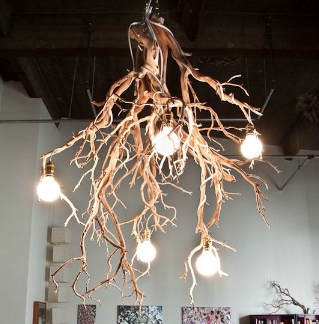 diy 10 lampes originales faciles fabriquer lights salons and driftwood. Black Bedroom Furniture Sets. Home Design Ideas
