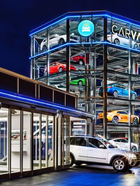 carvana launches world s first car vending machine in nashville rh pinterest com