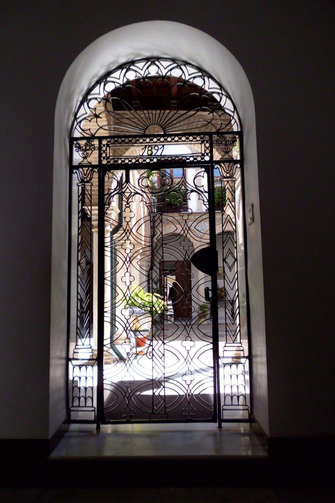 Rejas para puertas en arco buscar con google rejas - Arcos decorativos para puertas ...