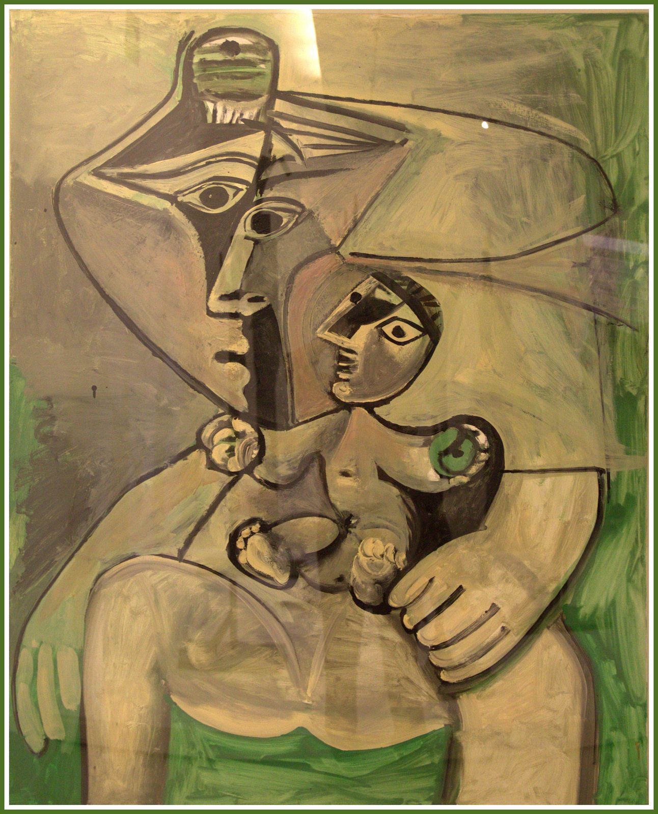 Pablo Picasso - Maternité | Picasso and Paintings