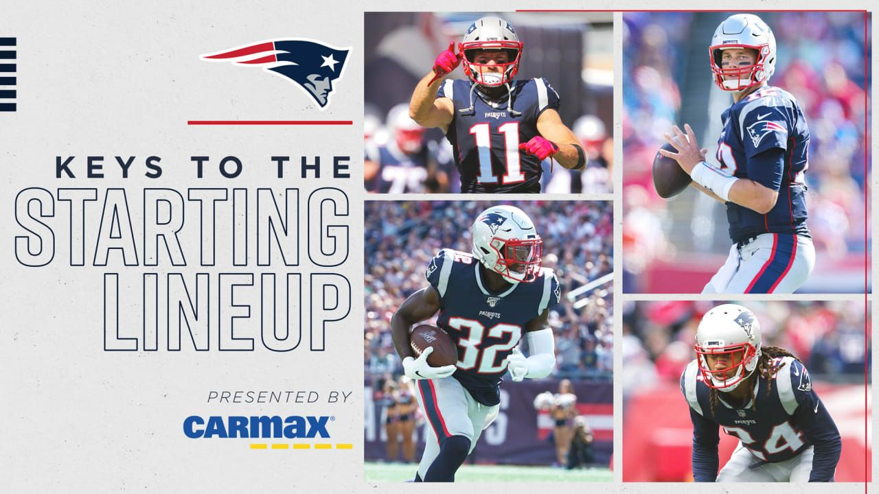 Keys To The Starting Lineup Presented By Carmax Patriots Vs Dolphins National Football League News The Patriots Wrap U Nfl News Carmax Patriots Vs Dolphins