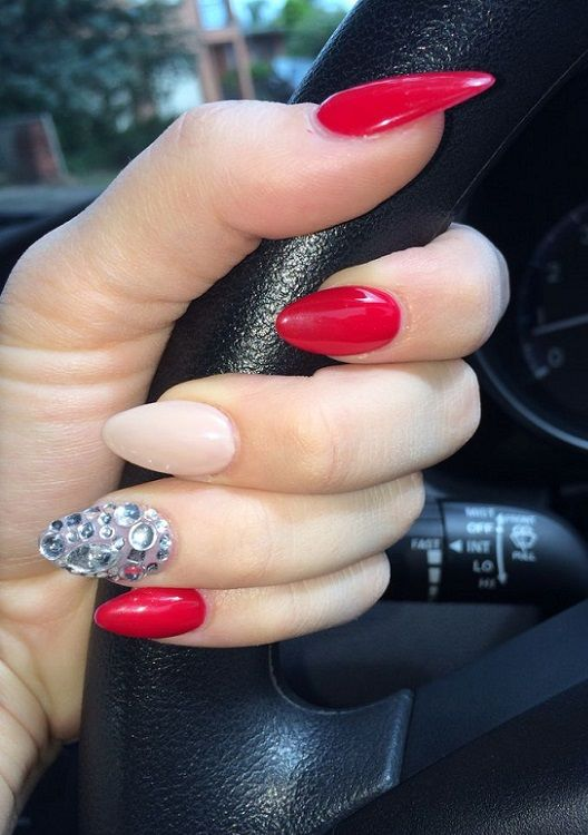 30 Red Nail Art Ideas 2018 Nails Pinterest Red Nail Art Red