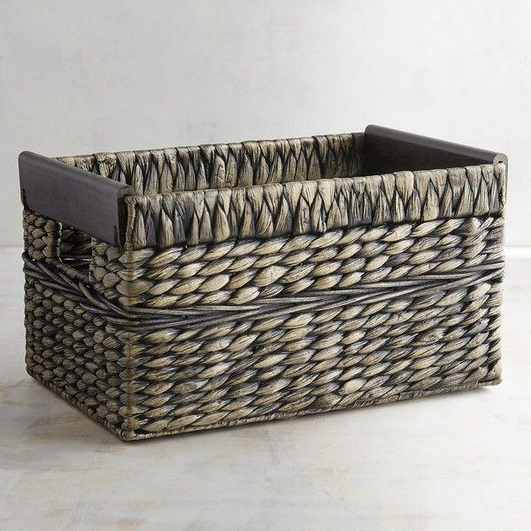 pier 1 imports saigon small shelf basket 30 liked on polyvore rh pinterest co kr