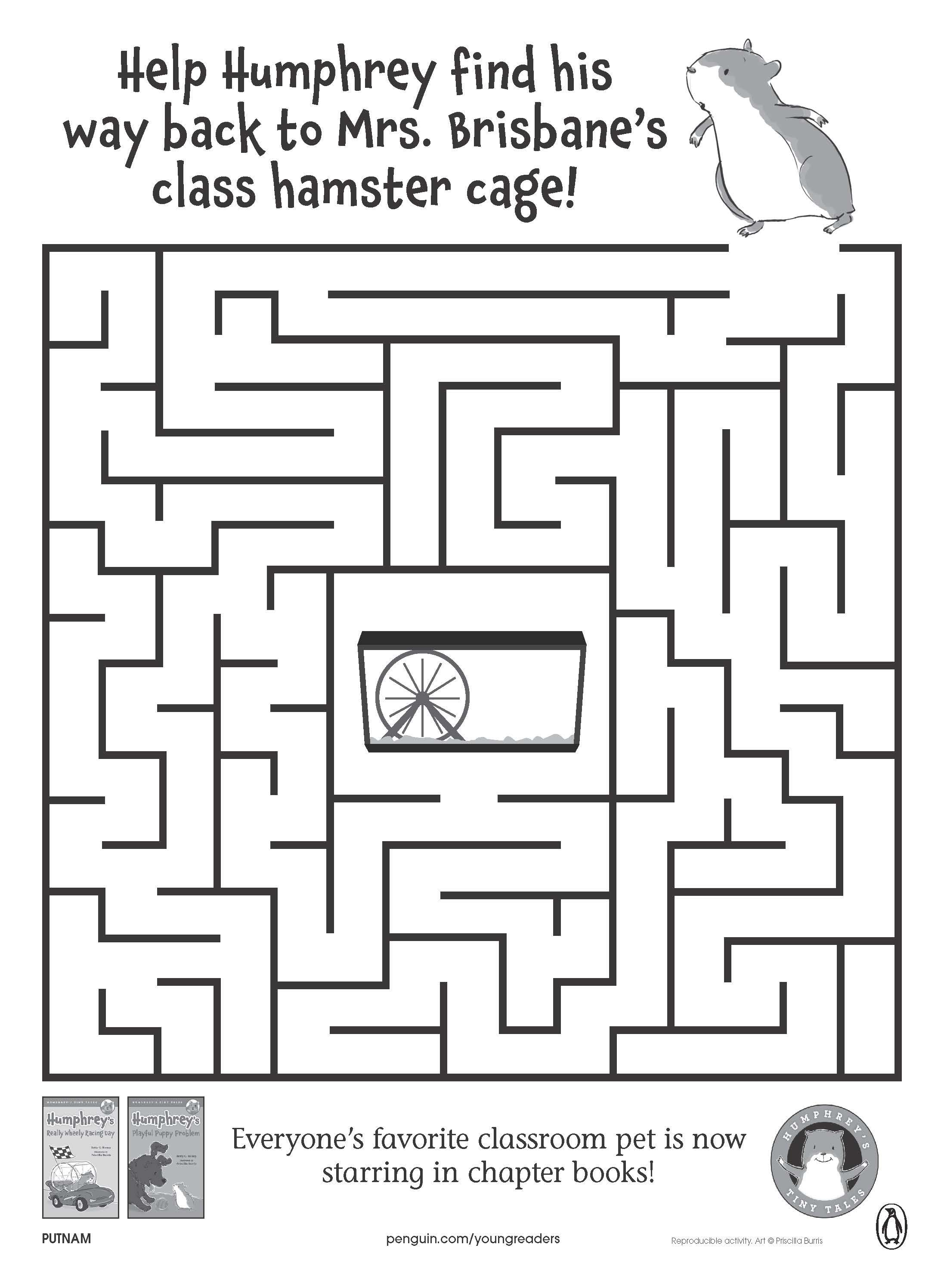 Back to School Printables and Activities | Hamsters, Back to ...