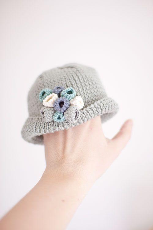 How cute for babies! | Jolies frusques | Pinterest | Gorros, Para ...