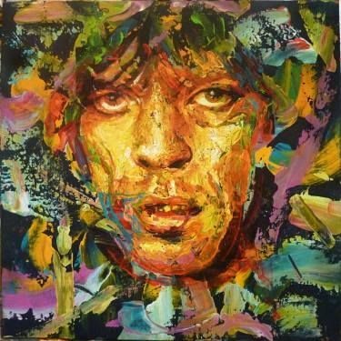 Potrait of Mick Jagger
