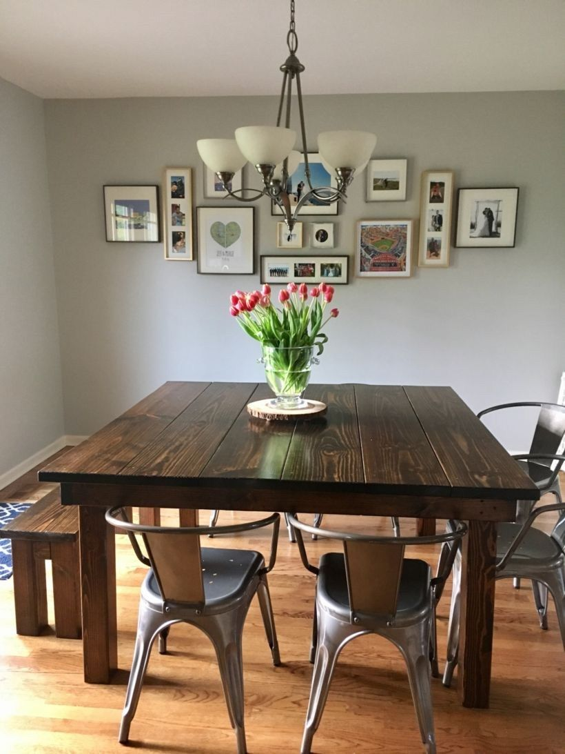 pin by selina phoebe on home decor farmhouse dining room table rh pinterest com